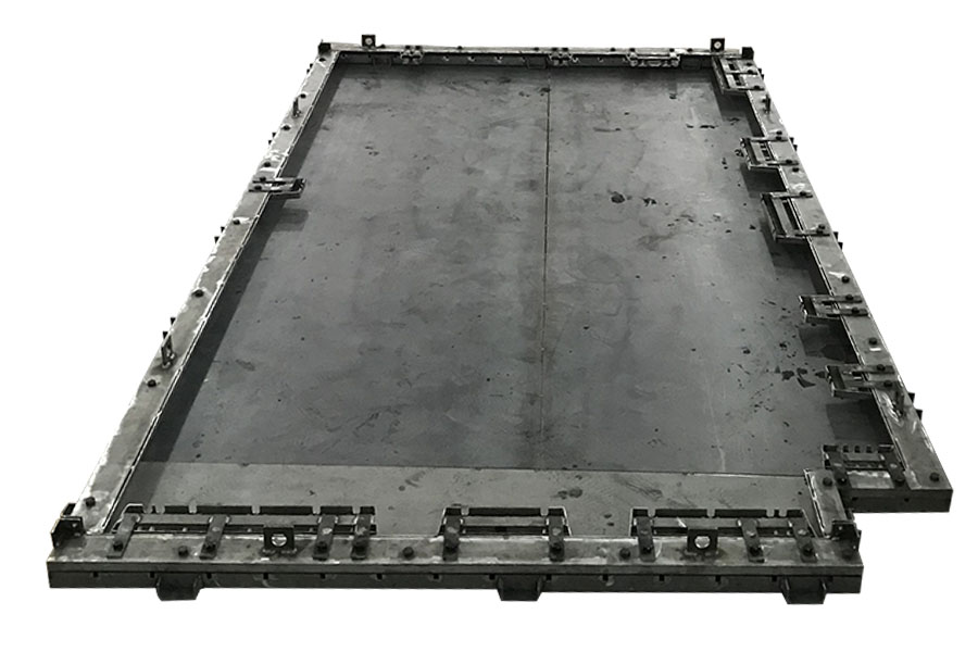 Shuttering System, Customized Precast Concrete Form For Special Composite Slabs