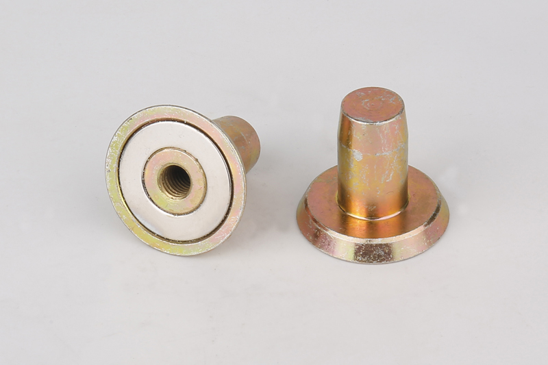 NdFeB Inserted Magnet PVC Pipe Magnet Embedded Bellows Magnet