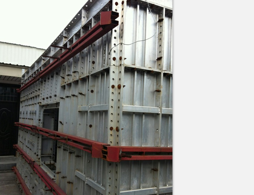 plastic formwork shuttering concrete system